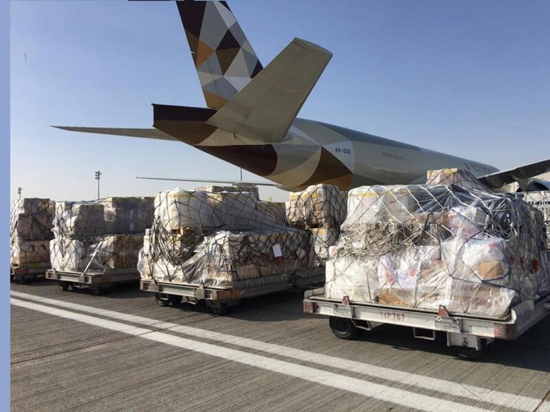 ارتفاع عدد وجهات الشحن الجوي للناقلات الإماراتية لأكثر من 86 وجهة حول العالم