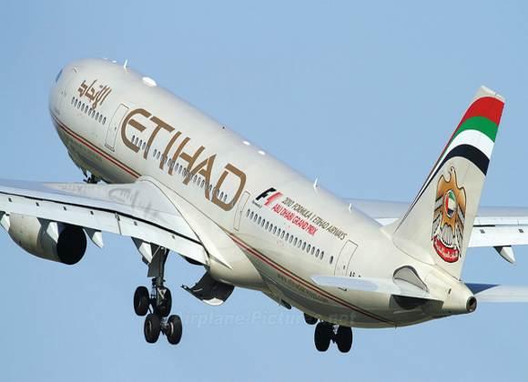 """""""الاتحاد للطيران"""" الإماراتية تحقق 1.7 مليار دولار عوائد تشغيلية"""