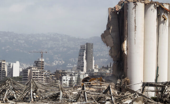 تقديرات البنك الدولي حول  خسائر انفجار مرفأ بيروت