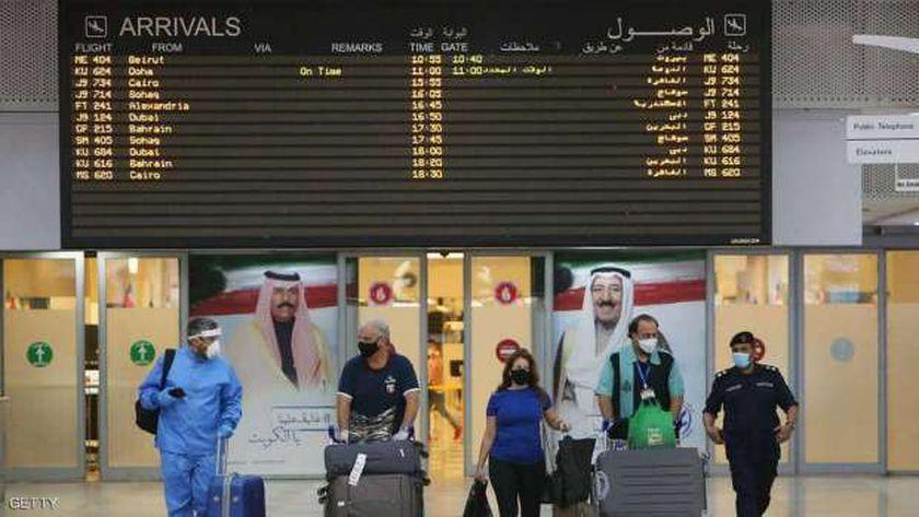 الكويت: انخفاض حركة المطار إلى 4271 راكبا بعد حظر الطيران مع 31 دولة