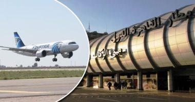 مطار القاهرة يسير 44 رحلةً طيران للسعودية والإمارات والبحرين لنقل 5551 راكبا