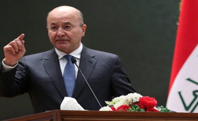 رئاسة العراق تدين استهداف تركيا لمنطقة سيدكان وتعده انتهاكاً خطيراً لسيادة البلاد
