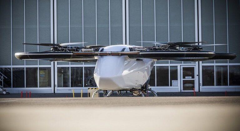 اختبار تاكسي طائر مسير في ألمانيا