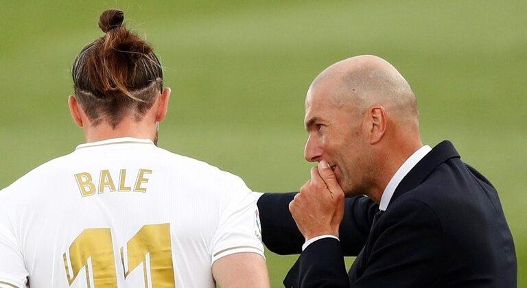 زيدان يكشف سبب استبعاد بيل من تشكيلة ريال مدريد أمام السيتي