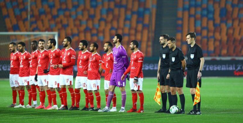 الأهلي المصري يحتفل علي طريقتة الخاصة بعد تربعة علي الممتاز