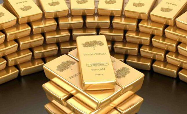 انخفاض الذهب مع صعود الدولار