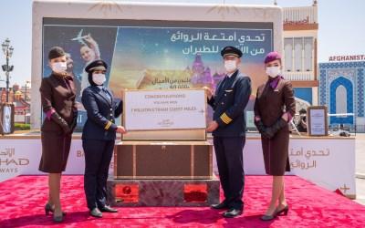 القرية العالمية تتعاون مع الاتحاد للطيران في تحدّي أمتعة الروائع