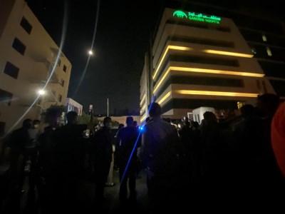 الأردن وفاة شخصين بعد انقطاع الكهرباء في مستشفى  الجاردنز