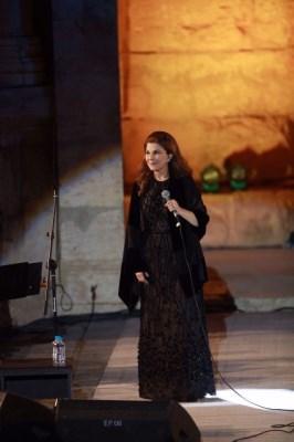 التعليق الأول للفنانة ماجدة الرومي بعد تعرضها لوعكة صحية على مسرح مهرجان جرش
